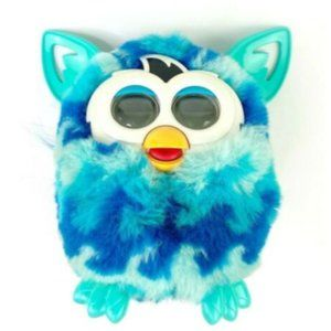 Furby Boom Blue Waves 2012 Interactive Pet Toy